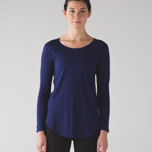 lululemon athletica Tops - 🍋Lululemon🍋Locarno Long Sleeve Hero Blue
